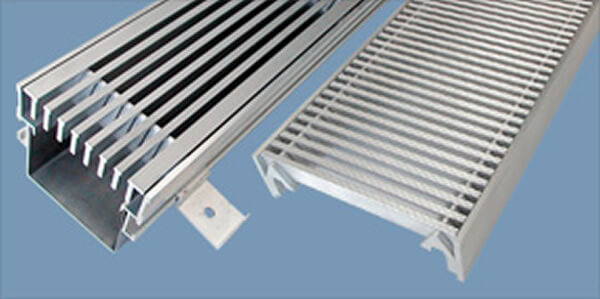 Grates, grids and frames